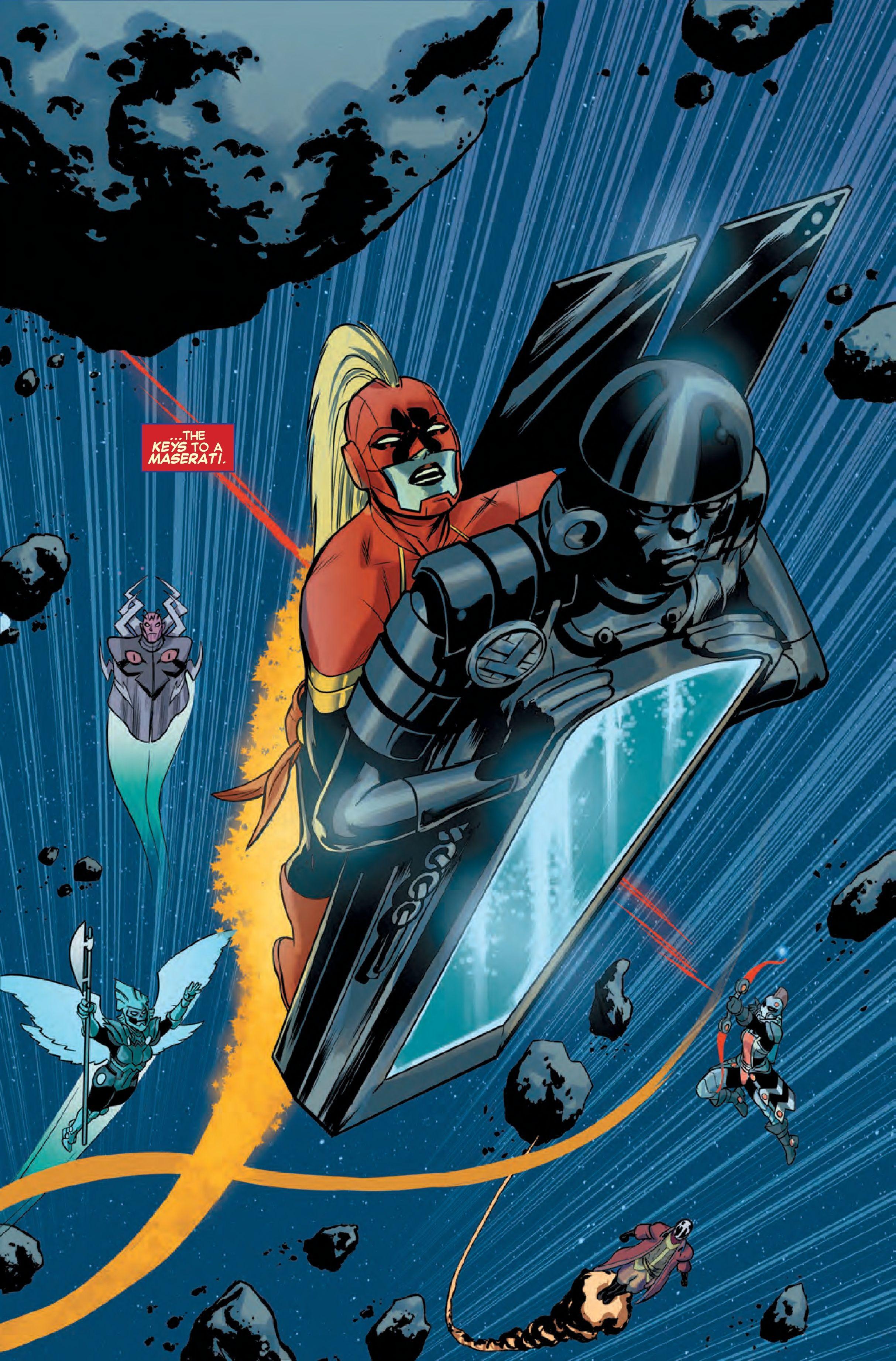 preview: captain marvel #14 - comic vine | geek central | comics