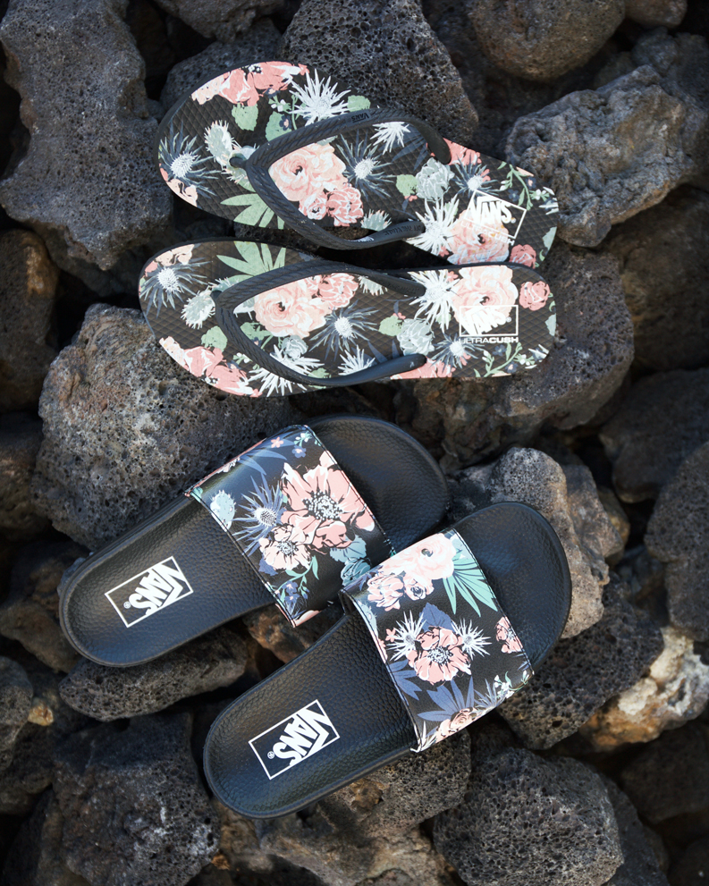 abf8689f17a0da Feeling Floral  Shop the Desert Floral Slide-On (in stores)   Hanelei Sandal  online.