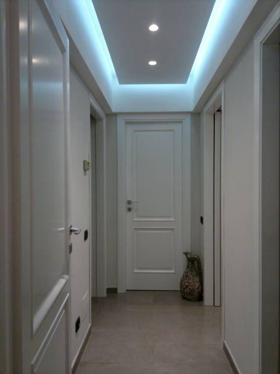 faretti led incasso cartongesso corridoio - Cerca con Google  Idee per Casa ...