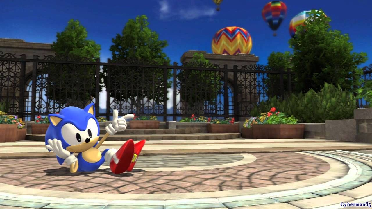 Sonic Generations PS3 - [Part 16 ~ Rooftop Run ~ Act 01 / 02