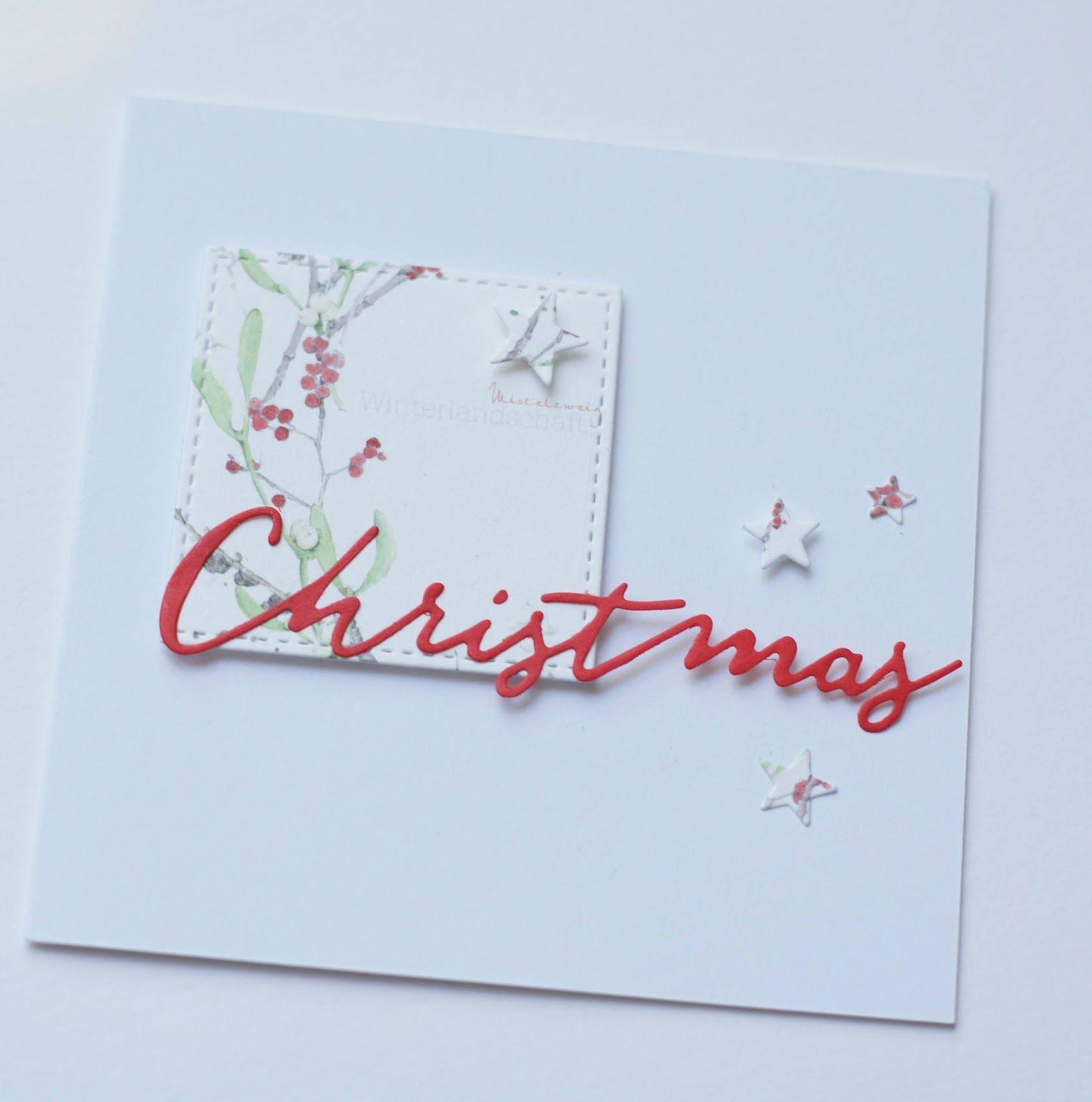 Pusteblume: Weihnachtskarte II