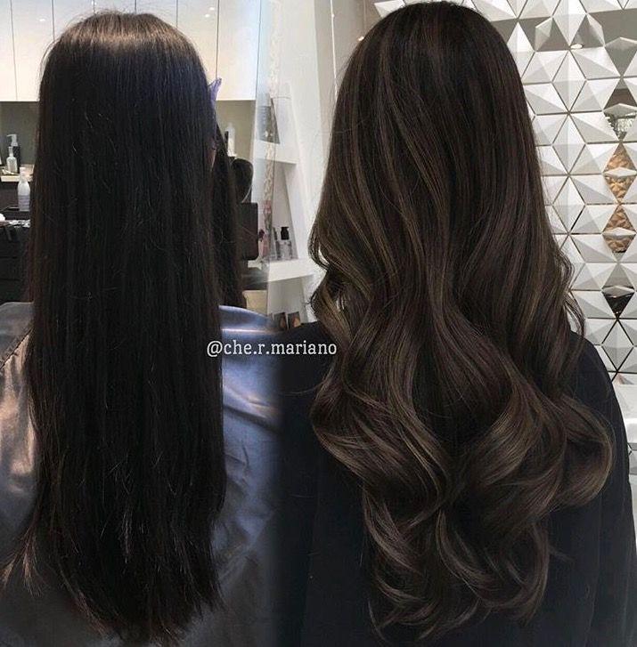 Subtle Ash Brown Balayage Brown Balayage Long Hair Styles Balayage Hair