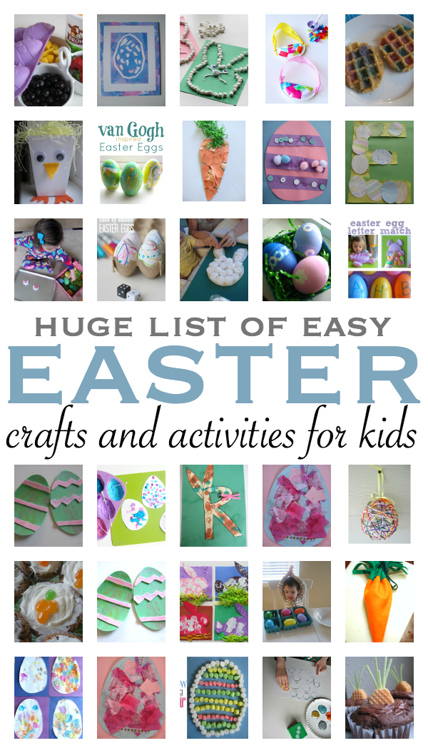 Easy Easter Craft Ideas For Kids Part - 46: 36 Fun U0026 Easy Easter Crafts For Kids