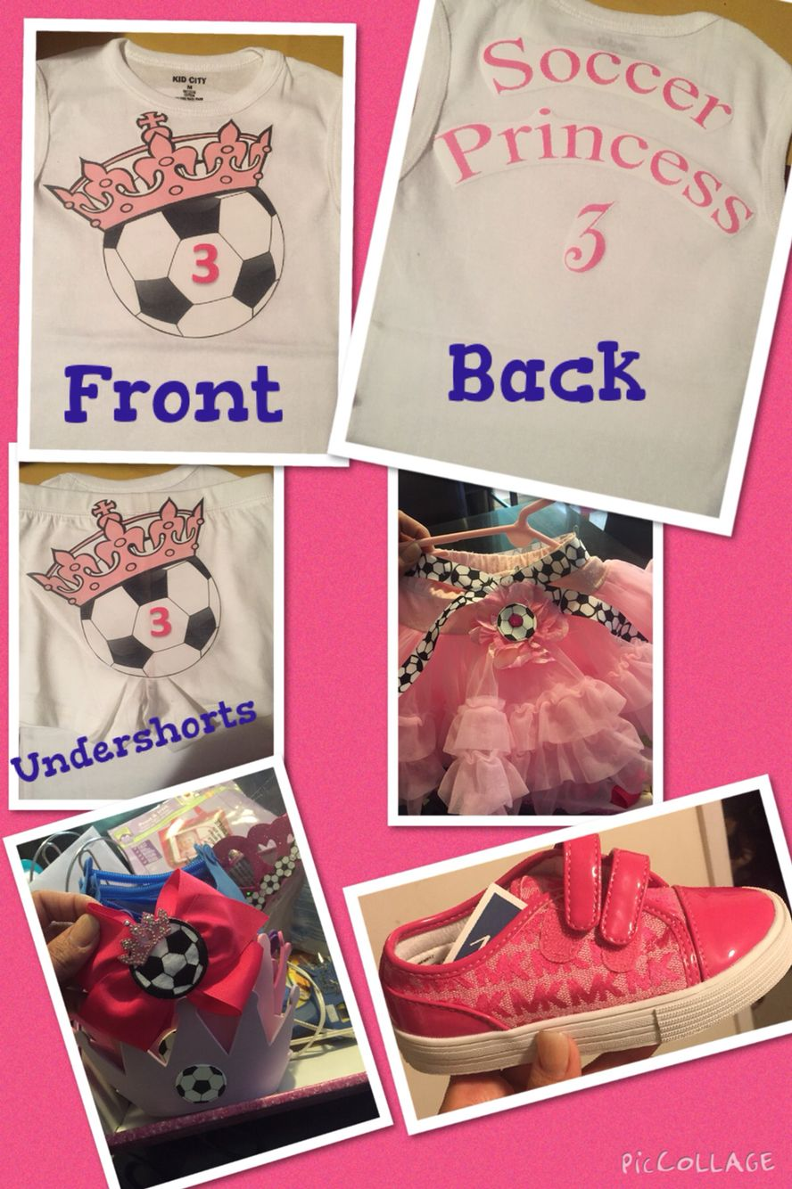 ⚽️ Outfit for the Birthday Girl⚽️