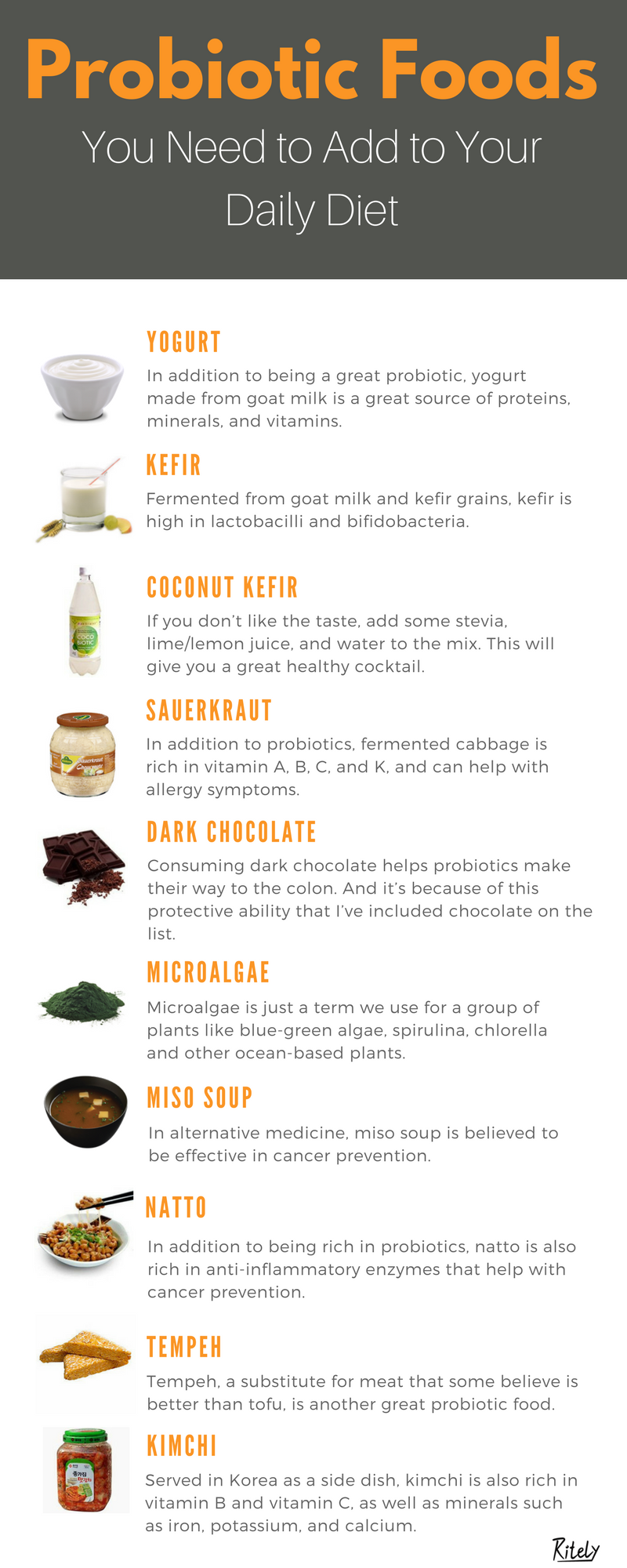 Probiotic Foods You Need To Add To Your Daily Diet Probiotic Foods Probiotics Daily Diet