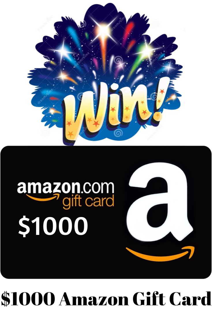 Win A 1000 Gift Card Amazon Gift Cards Amazon Gift Card Free Best Gift Cards