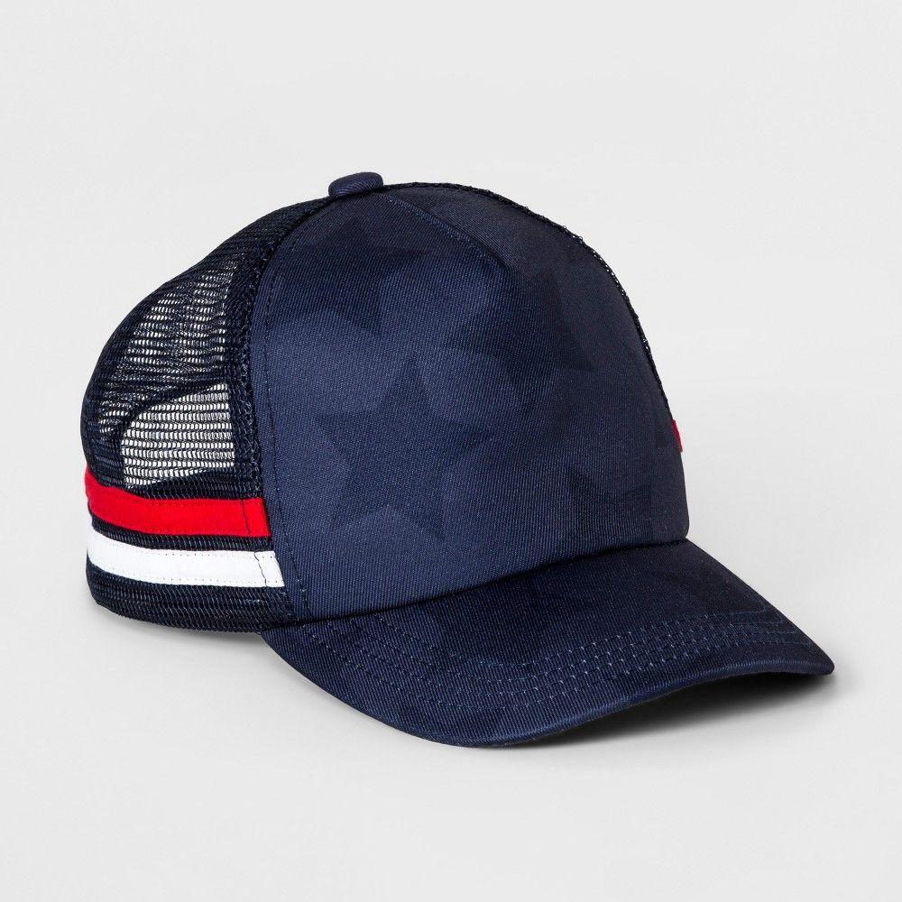 Boys  Americana Baseball Hat - Cat   Jack Navy (Blue) One Size ... bcacfd9cfbe