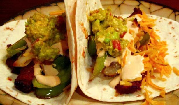 use gf tortillas and the roasted corn avocado salsa