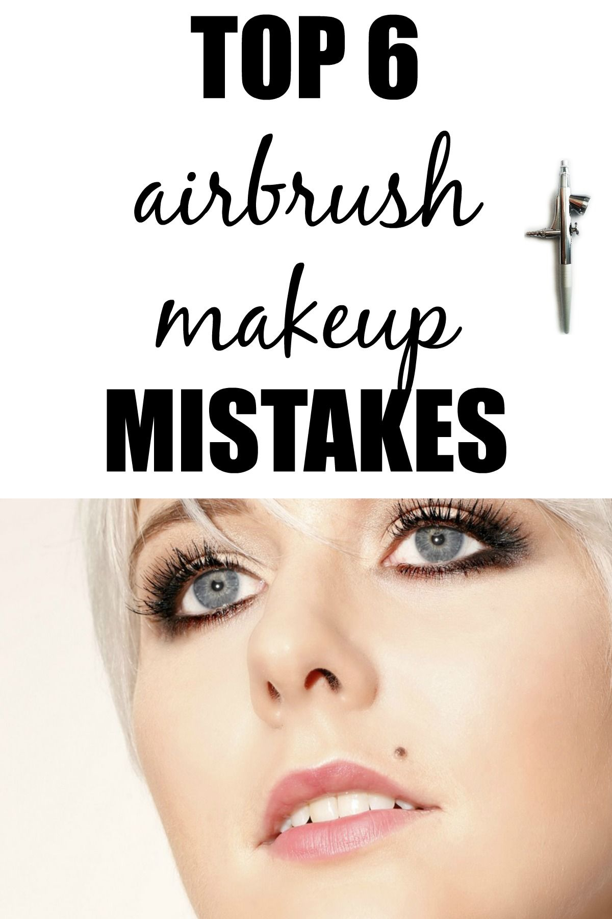 Top 6 Airbrush Makeup Mistakes Makeup mistakes, Wedding