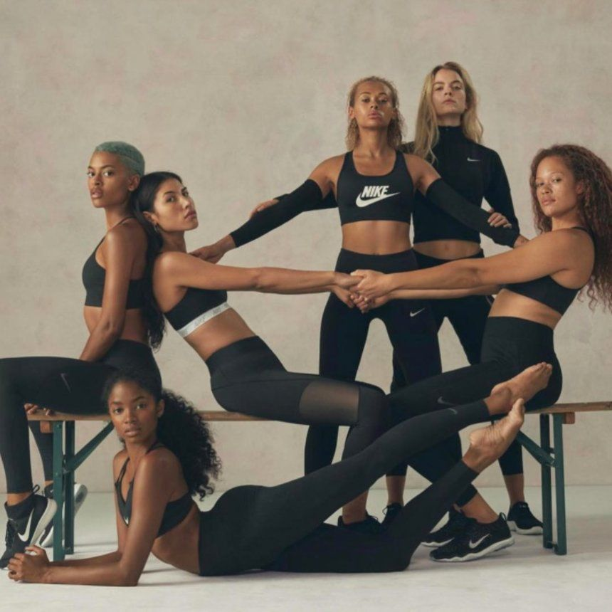 oportunidad Bailarín virtual  Nike Taps A Bevy Of Brown Beauties To Create The Campaign Of Our Dreams    Bra brands, Nike campaign, Nike models