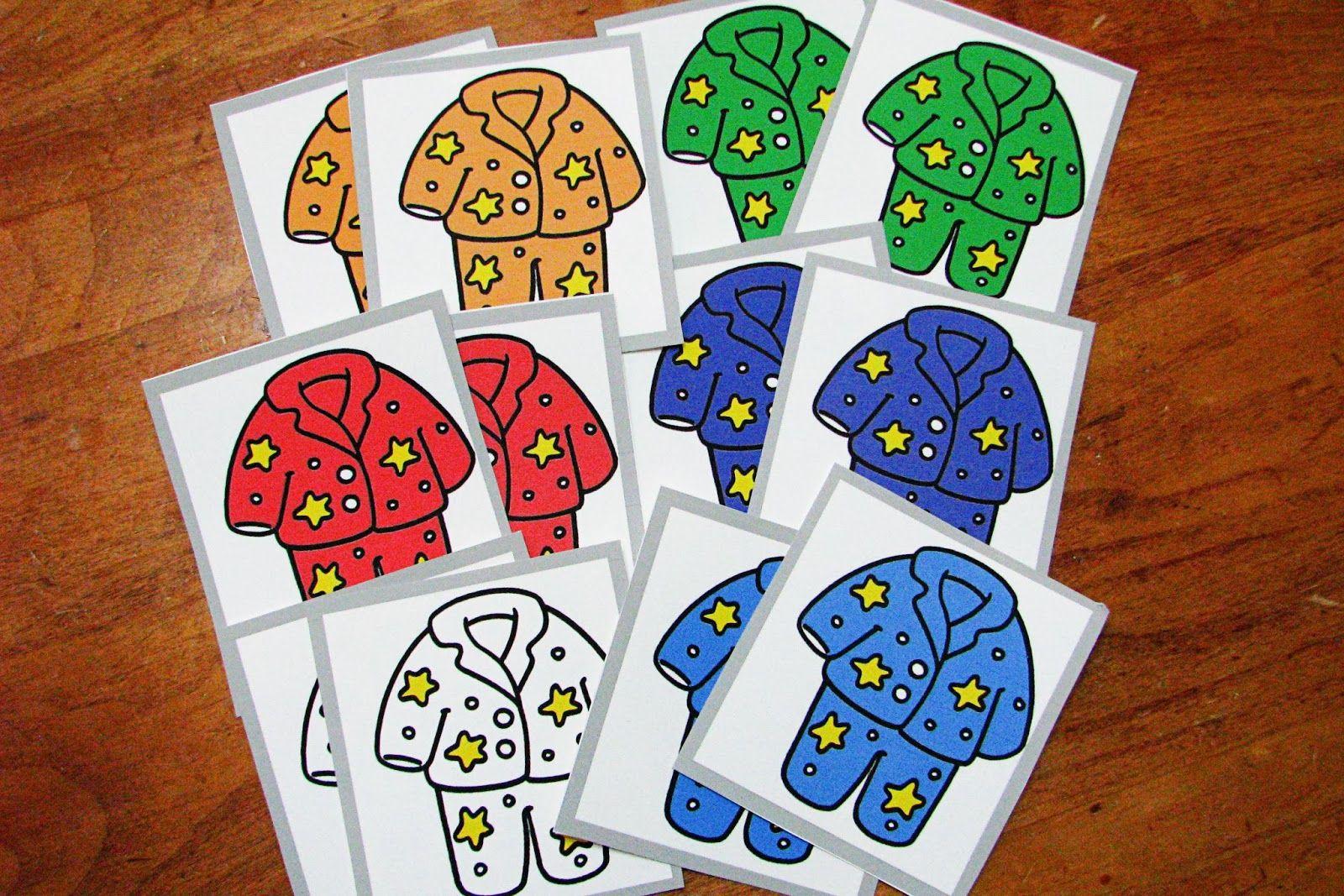 Pajama Matching Game