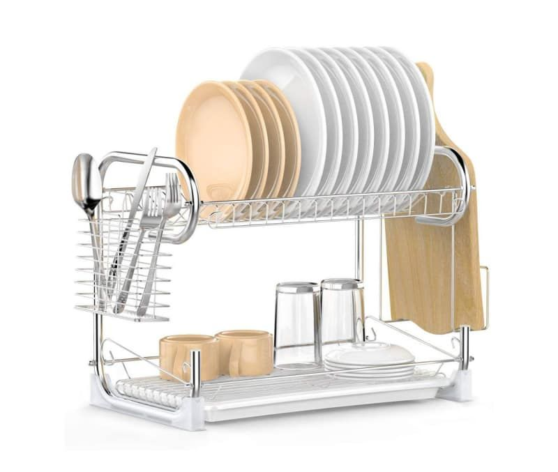 8 One Click Ways To Find Joy In Washing Dishes Dish Rack Drying Drying Rack Kitchen Dish Racks