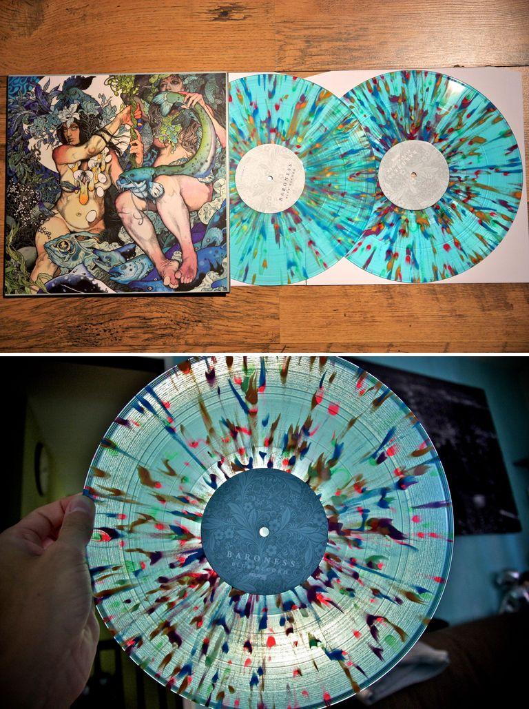 Baroness - The Blue record LOVE the record color. | Vinyl ...