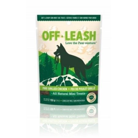 Complete Natural Nutrition Off Leash Fire Grilled Chicken Dog Treats, 5.29 Oz, Multicolor