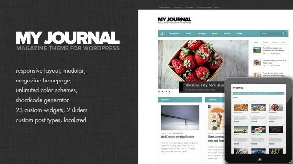 My Journal – Modular and Responsive Magazine Theme | Responsive ...