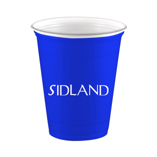 Personalized Blue Solo Cup Custom Cups Personalized Cups Guest Hand Towels