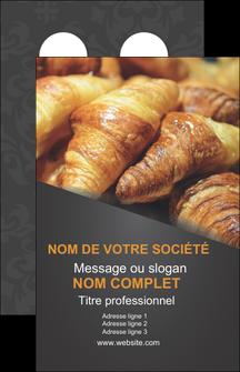 Modele Carte Flyer Pour Boulangerie Patisserie A Personnaliser Plaquette De Visite