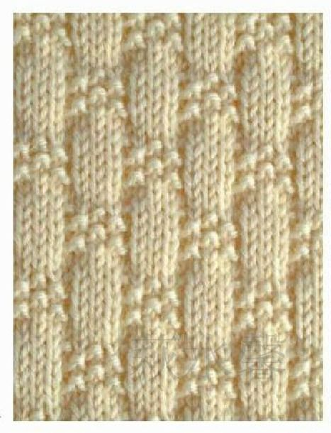Knit Purl Afghan Patterns : knit and purl stitch patterns http://www.stranamam.ru/post ...