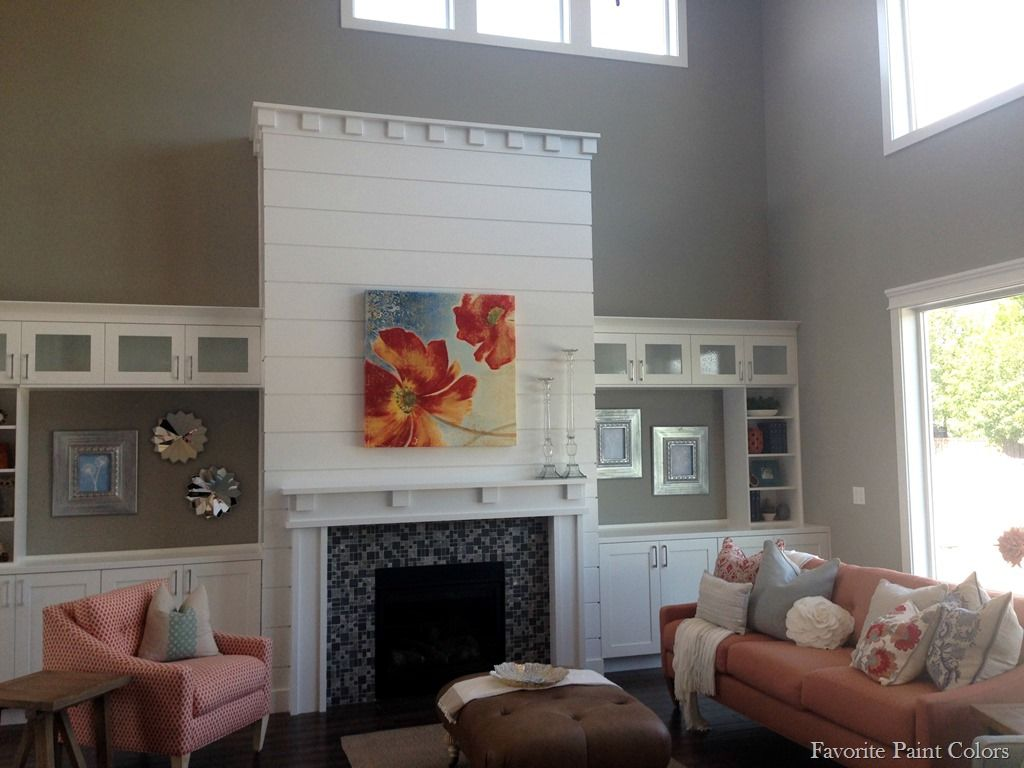 Sherwin williams favorite paint colors blog grey white - Gray color schemes for living room ...