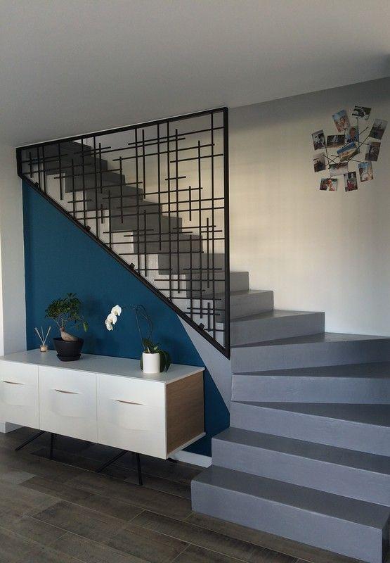 Modern Guard House Design: Guard Rail Metal Creation Metal Addict Elements