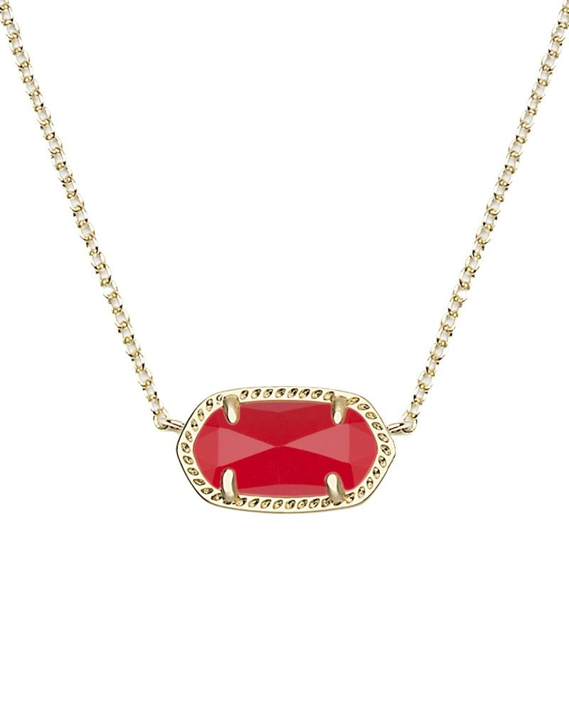 81c470dc0333d Elisa Pendant Necklace in Bright Red - Kendra Scott Jewelry ...
