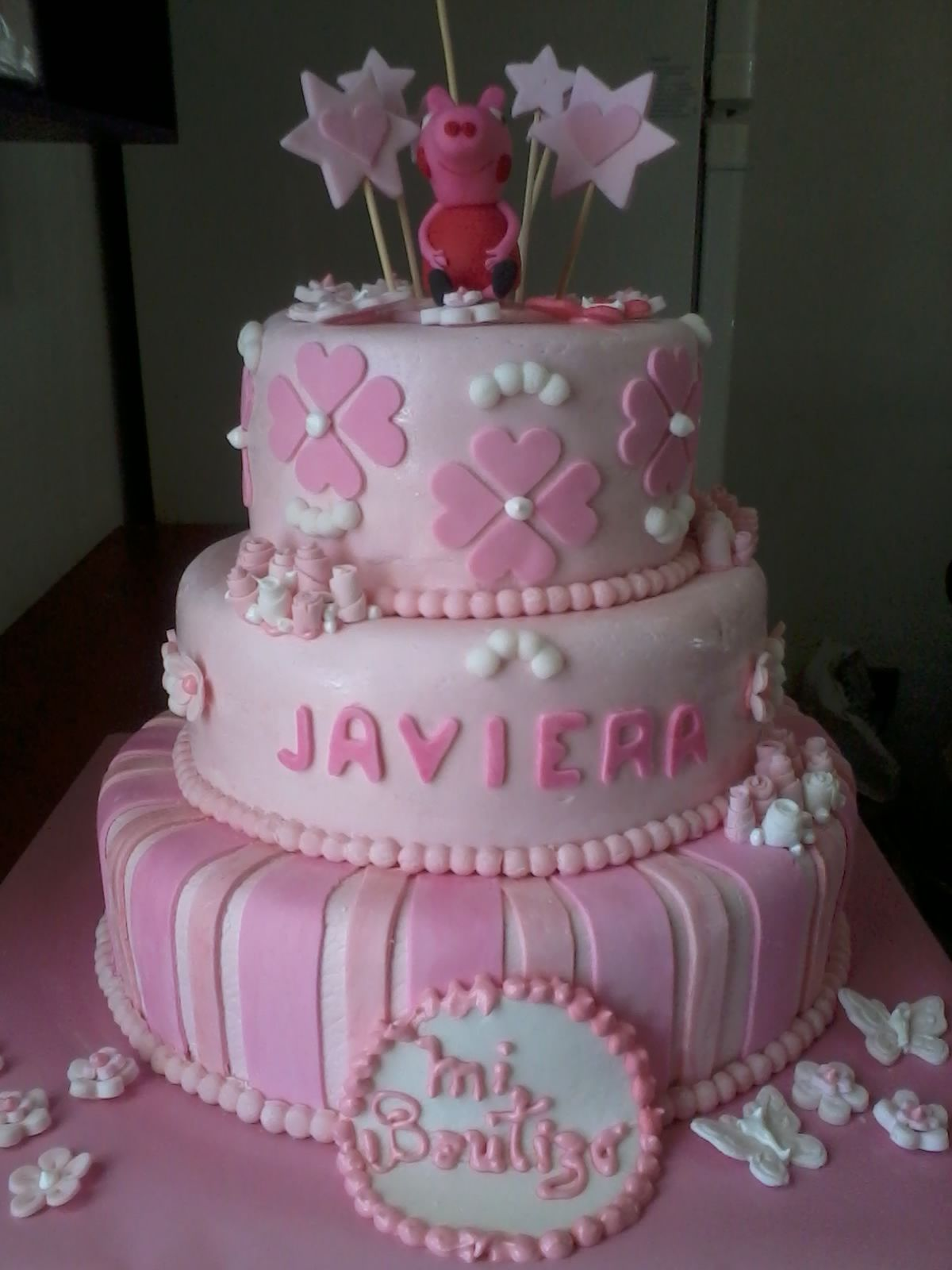 Imagenes de decoracion de torta de pepa buscar con for Decoracion con fotografias