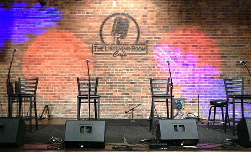 The Listening Room Cafe  PlacesTenneessee  Nashville