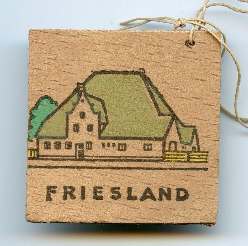 WWII German German Homes Friesland Wooden WHW Tinnie 1942