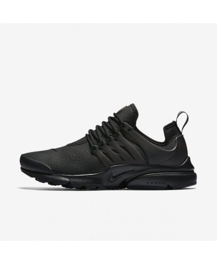 Nike Air Presto Premium Black/White Womens Shoe