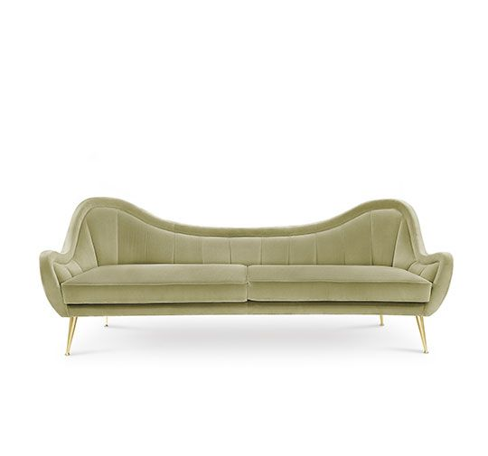 Hermes samt sofa velvet sofa luxus wohnzimmer luxury living