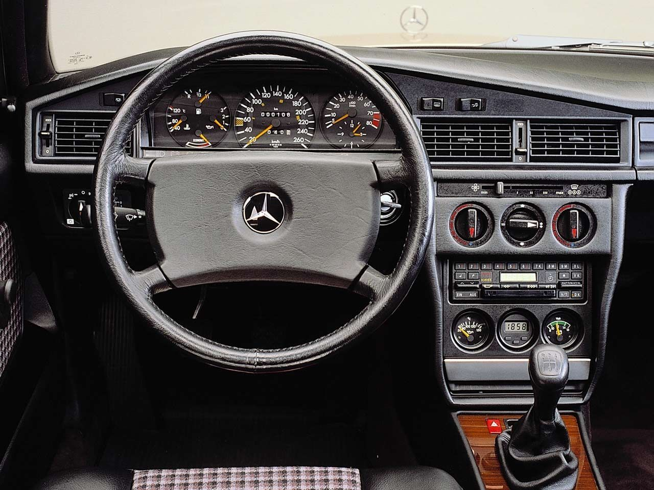 Inside the legendary mercedes benz 190 e 2 3 16 cosworth for Inside mercedes benz