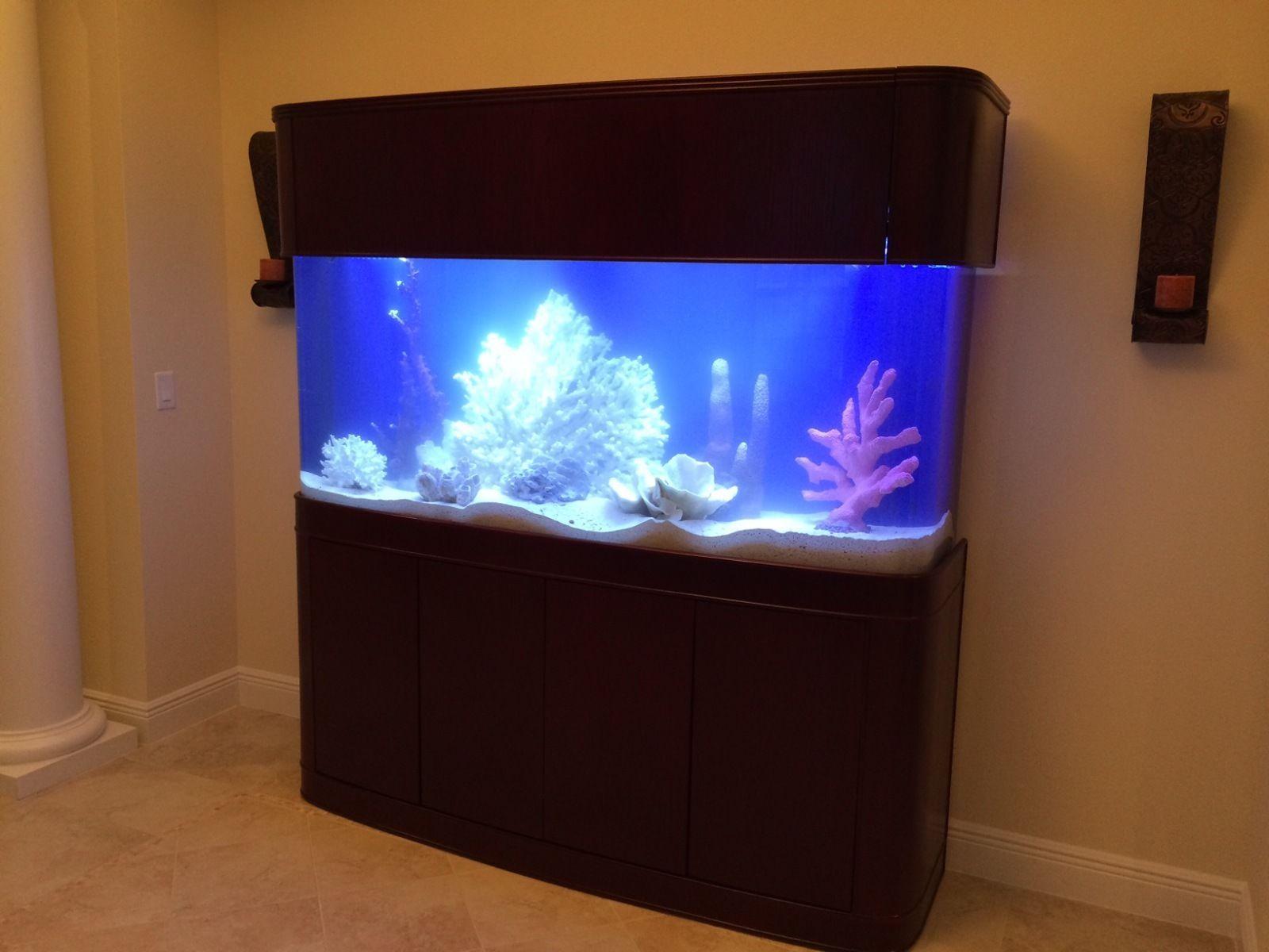 Aquarium fish tank ebay - Aquavim Seamless Bow 180 Gallon Fish Tank Ebay