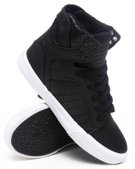 e40a4a4bf9cf Buy Skytop Embossed Mesh Hightop Sneakers Women s Footwear from Supra. Find  Supra fashions   more at DrJays.com