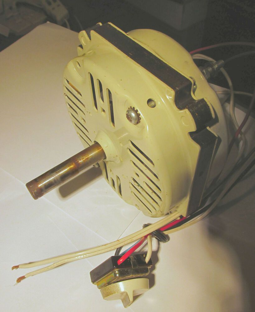 Torcan Box Fan Motor Single Phase 115V low rpm 3 speed 3/8 Shaft