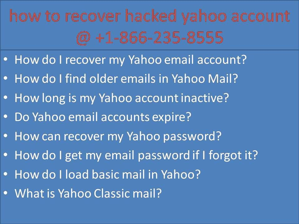 how old is my yahoo account