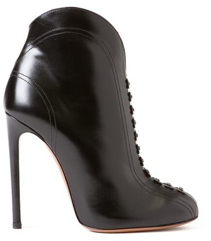 Azzedine Alaia Embellished Ankle Boots