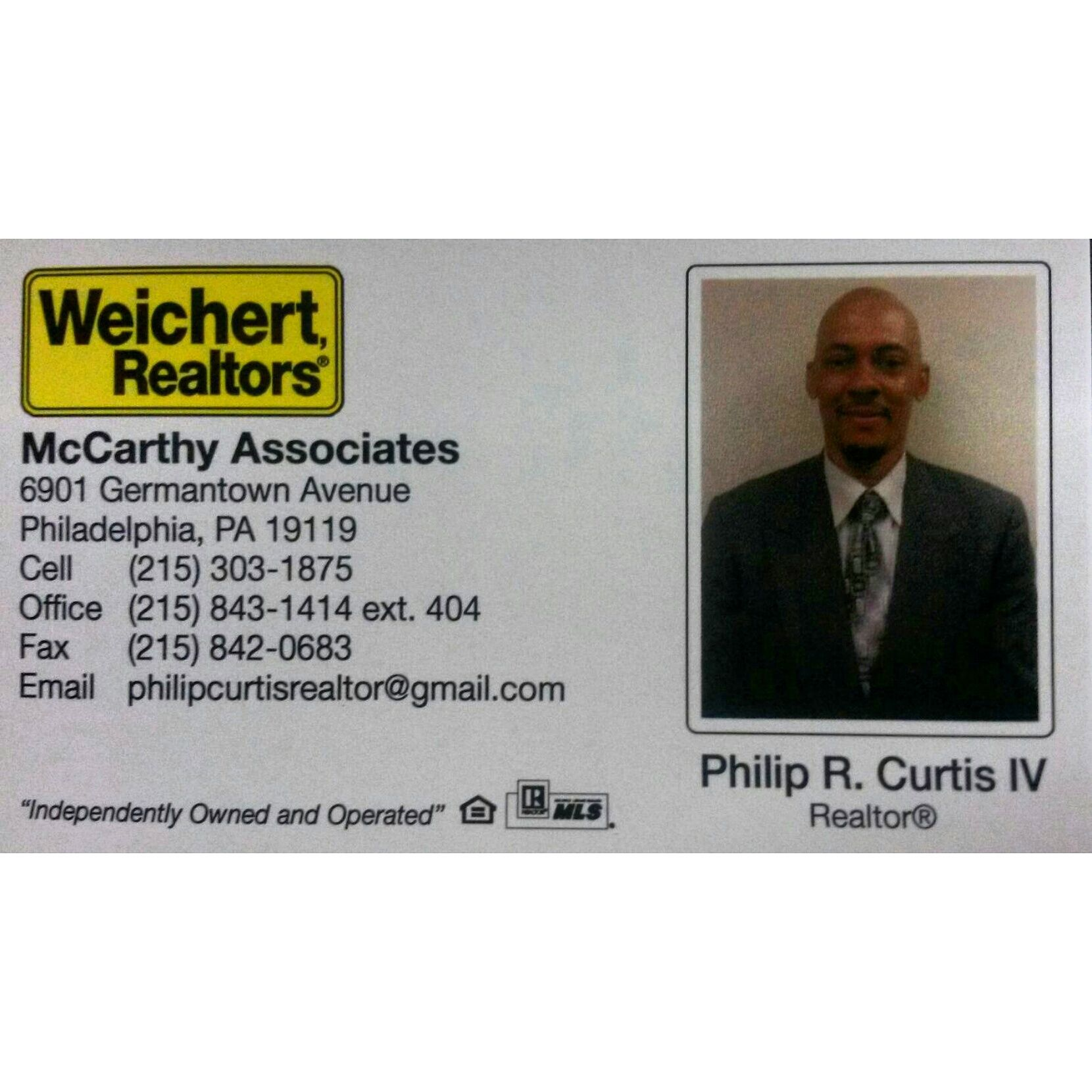 My Weichert Business Card Need A Licensed Realtor Well I M Your Neighborhood Specialist