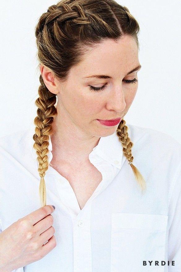 20 Easily Duplicated Hairstyles For Medium Length Curly Hair Cabellos De Longitud Media Trenzas En Pelo Corto Caja Larga De Trenzas