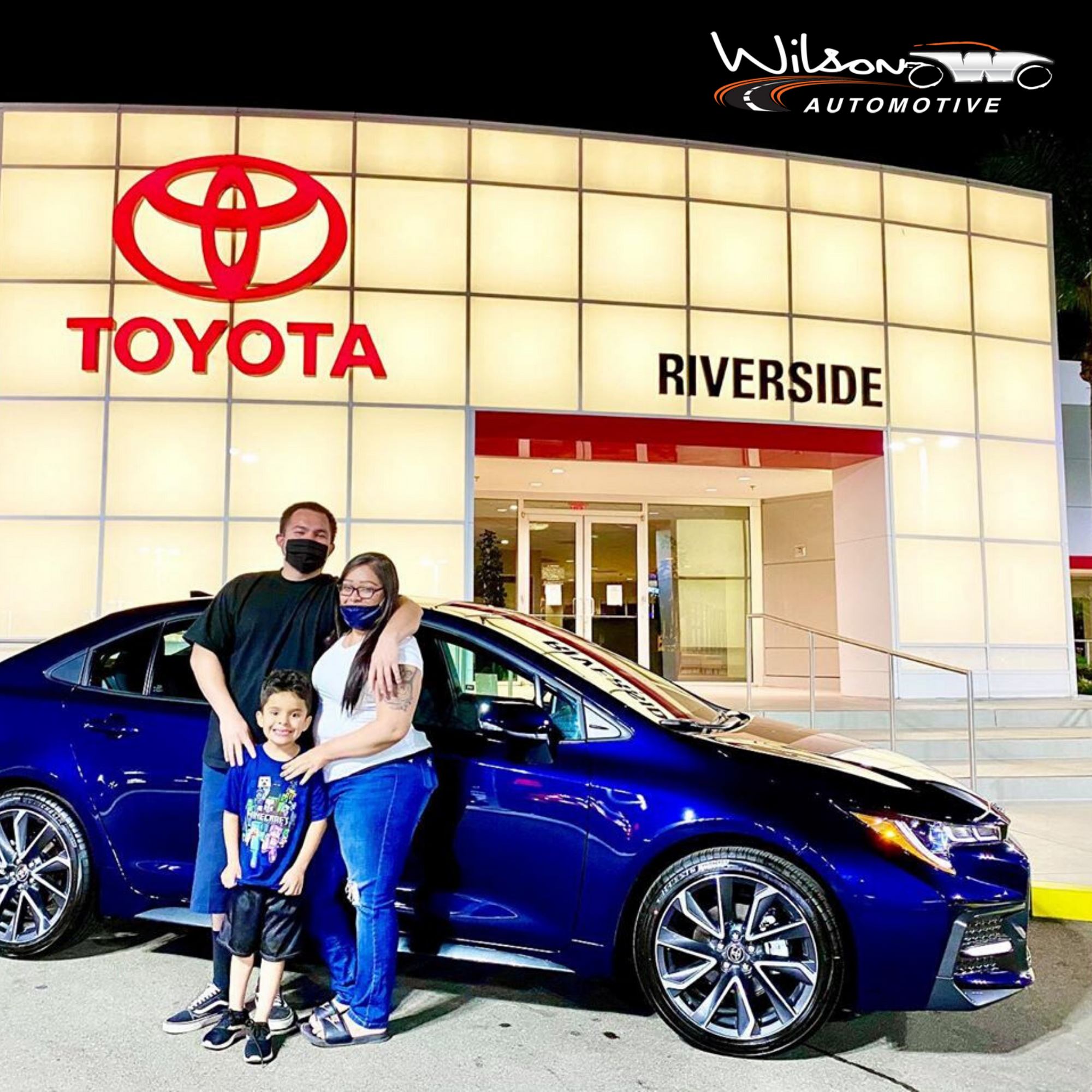 This Happy Family Just Bought Their Brand New Corolla From Toyotaofriverside For More Toyota Models Like This One Ch Toyota Dealers Toyota Dealership Toyota