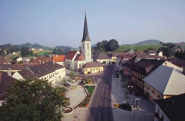 Marktplatz Zwettl an der Rodl