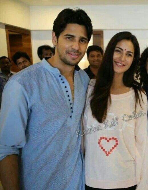 Katrina Kaif Siddharth Malhotra Katrina Kaif Cute Celebrity Couples Katrina
