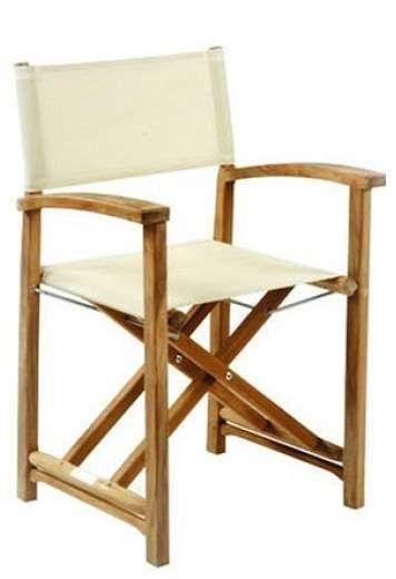 Folding Chair Lulu Eddie Bauer High Pad Kingsley Bate Capri Indoor Outdoor Director S Sand In 2018 Georgia