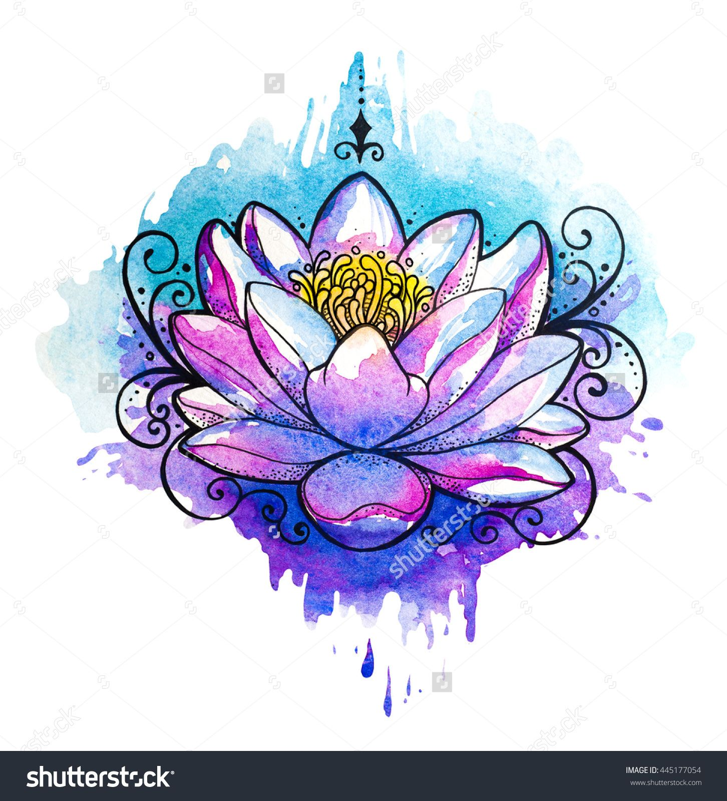 Image Result For Rainbow Butterfly Tattoos Flower Illustration Aquarius Art Watercolor Tattoo