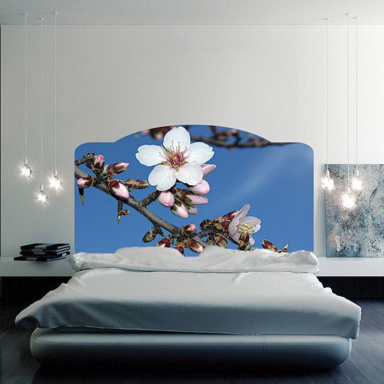 Floral Headboard Mural Decal Headboard Wall Decal Murals Headboard Wall Decal Headboard Designs Headboard Wall