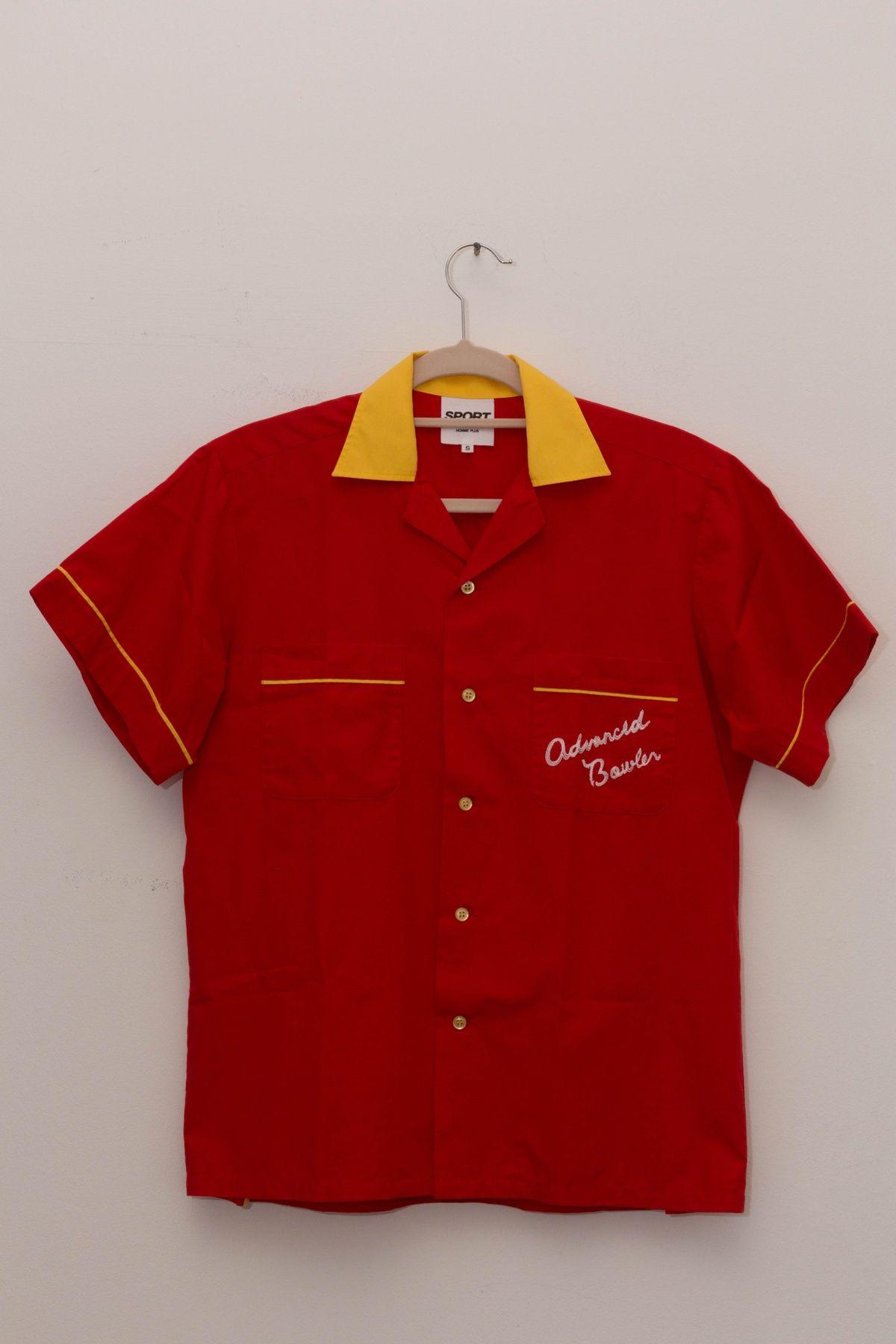 017cd3cb17b Buy Comme Des Garcons Homme Plus Comme Des Garcons HOMME PLUS SPORT Bowling  CLub Shirt MEDIUM