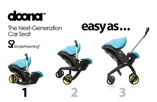Doona Infant Car Seat ~ Cat with WHEELS that turns into a ...