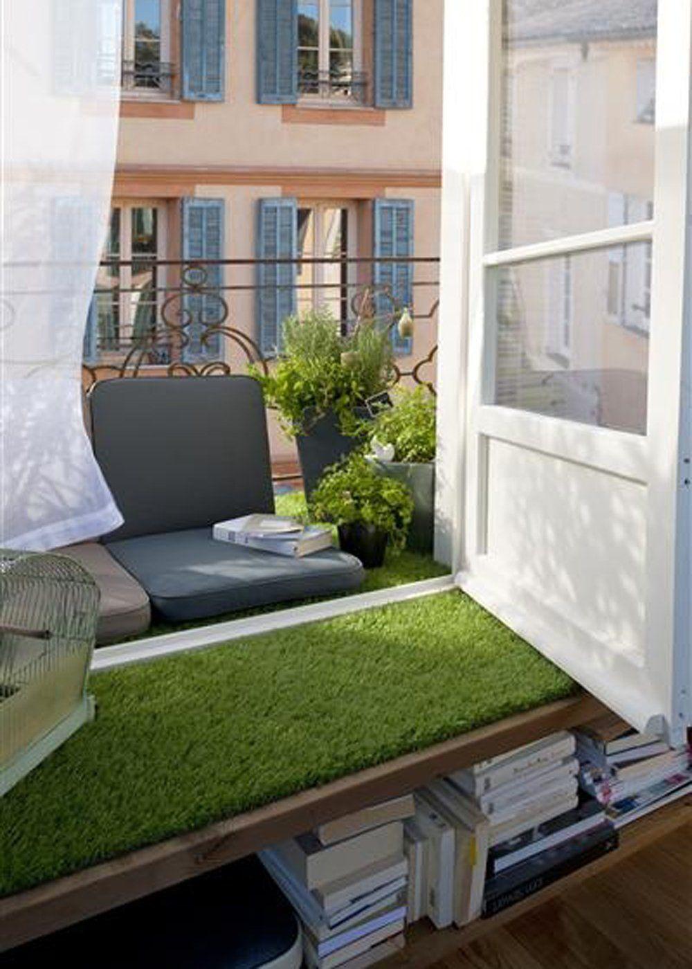 nos meilleures idées pour aménager un petit balcon | petits balcons