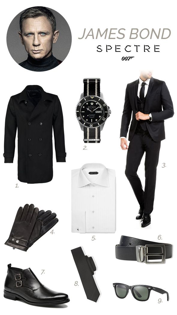 deguisement 007 spectre