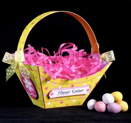 Card gallery cute little easter gift basket creativegift card gallery cute little easter gift basket negle Images