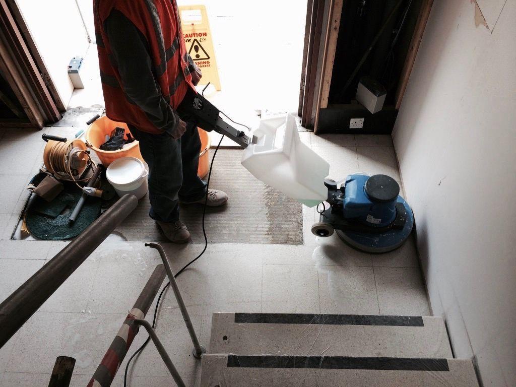 Terrazzo Stair Cleaning Restoration Sussex Surrey